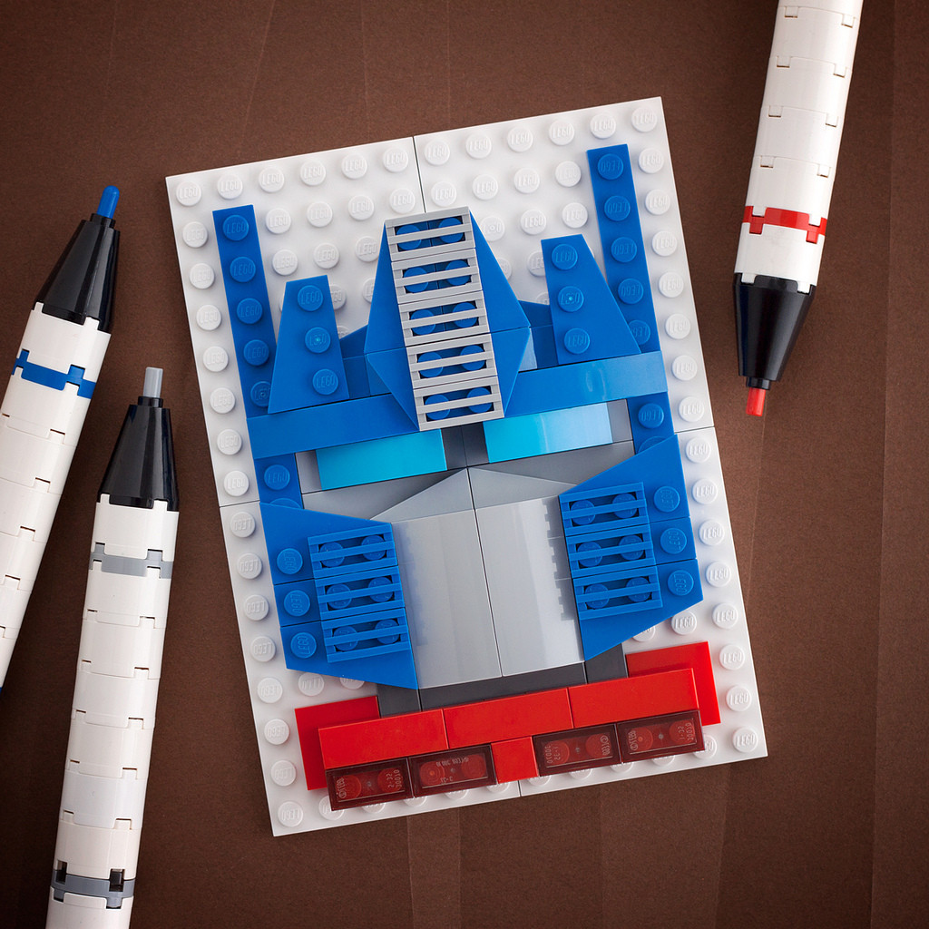 Optimus Prime of the TRansformers