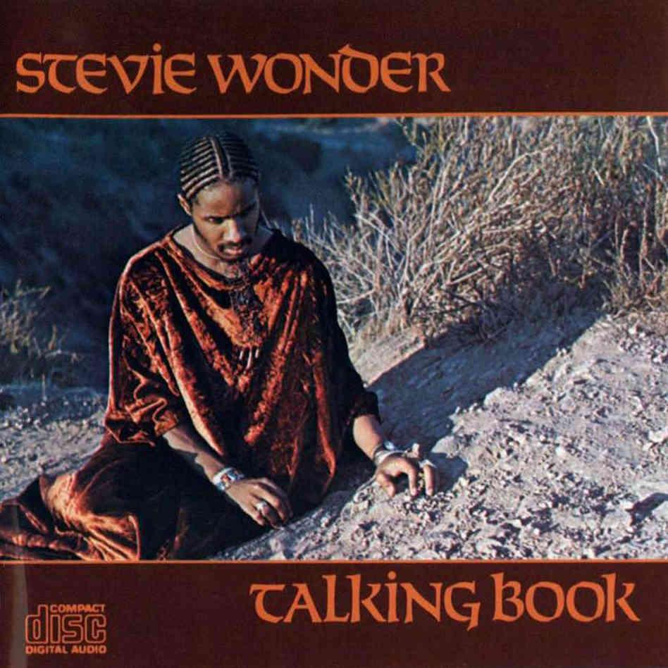 Stevie Wonder - Talking Book Vinyl Cover
