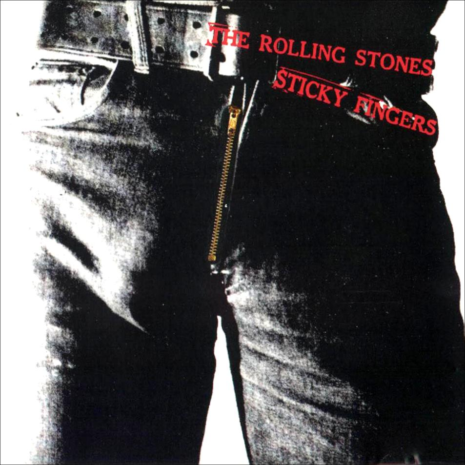 The Rolling Stones - Sticky Fingers Vinyl Cover