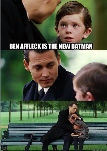 Ultimate Sadness about Batman Affleck news