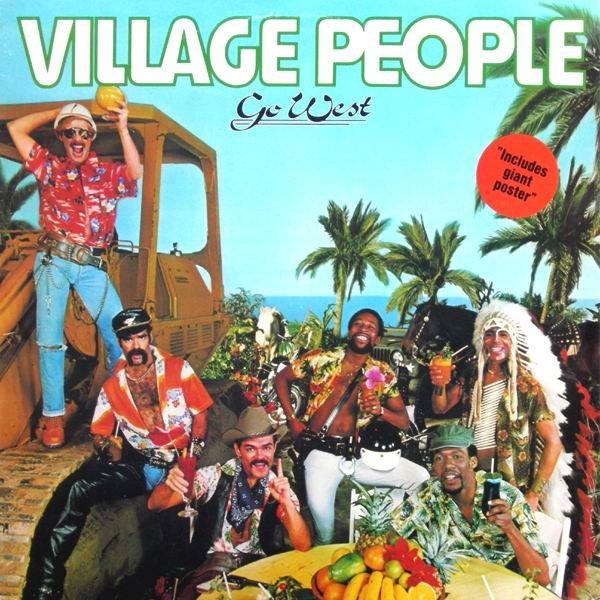 Village People - Go West Vinyl Cover