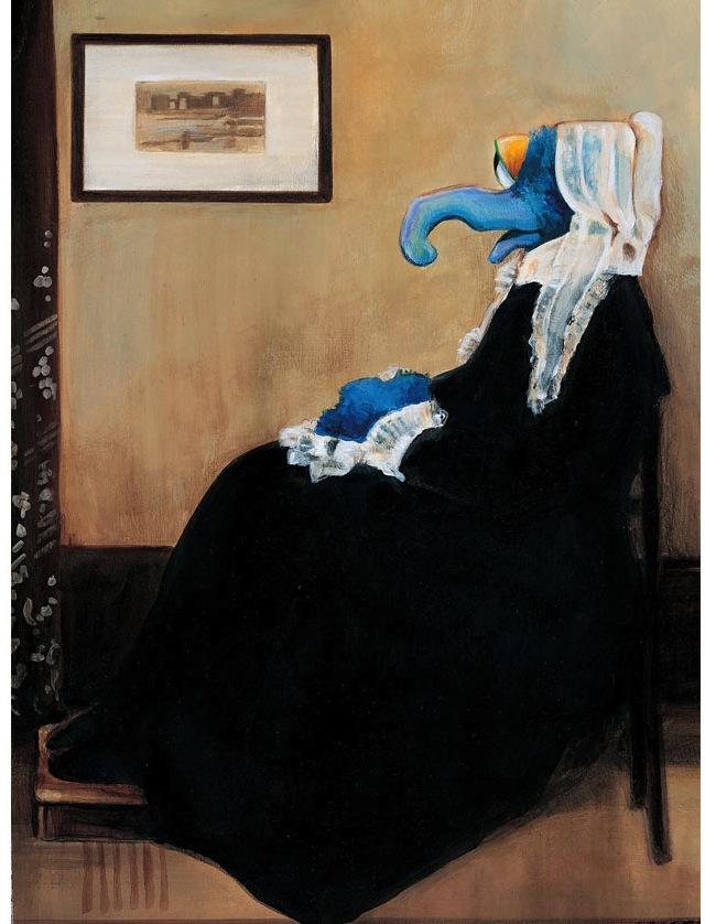 Gonzo as Whistler's Mother, Matthew Jeanes (Matthew Jeanes)