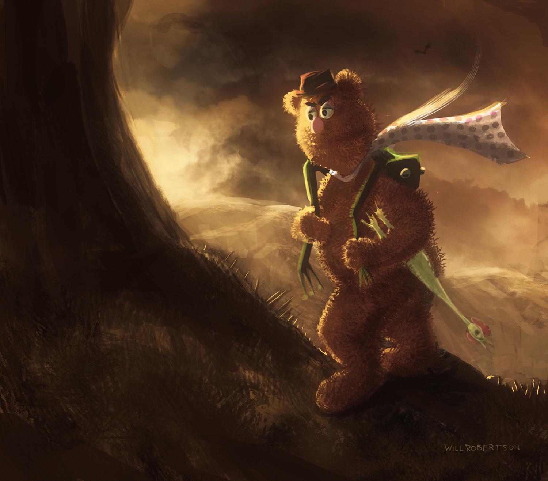 Muppets/Tolkien, Will Robertson