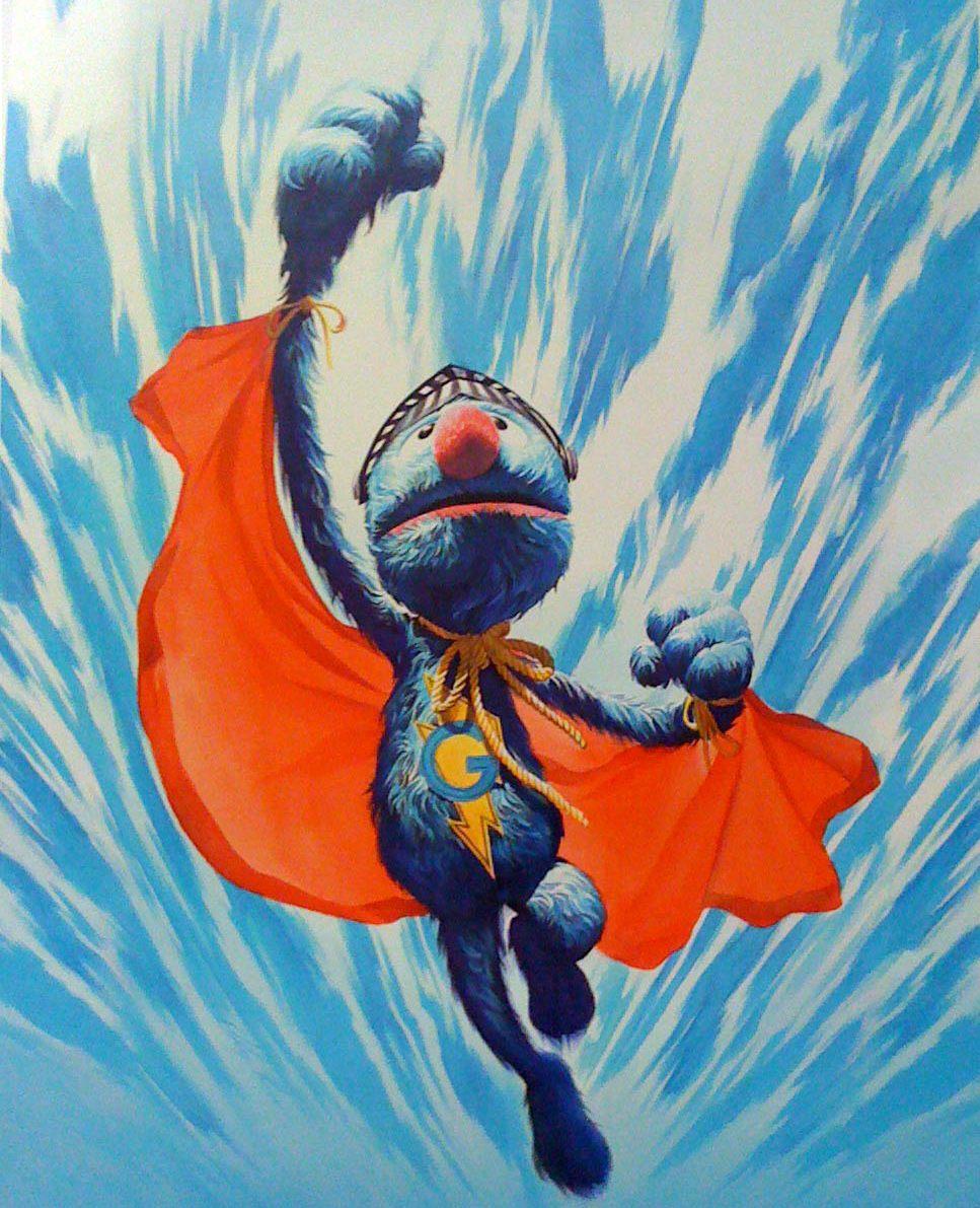 Super Grover, Alex Ross (eBay)