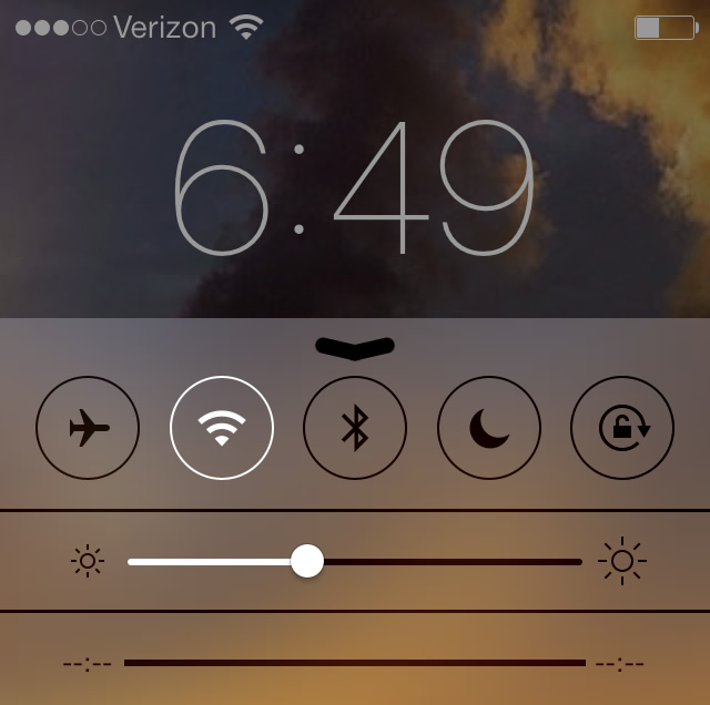 control-center-lock-screen