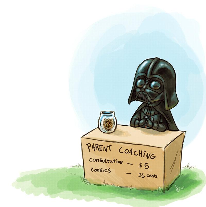 Darth Vader giving advice
