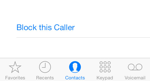 how to block calls but still receive text on iphone