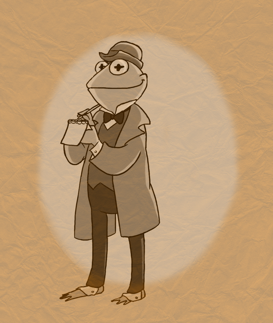 Kermit Sherlock Holmes, The French Belphegor (deviantART