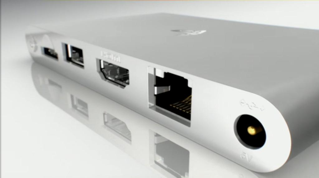 PS Vita TV rear panel