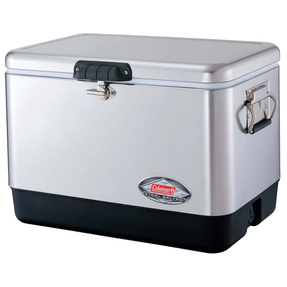 the Coleman 54-quart tailgating cooler