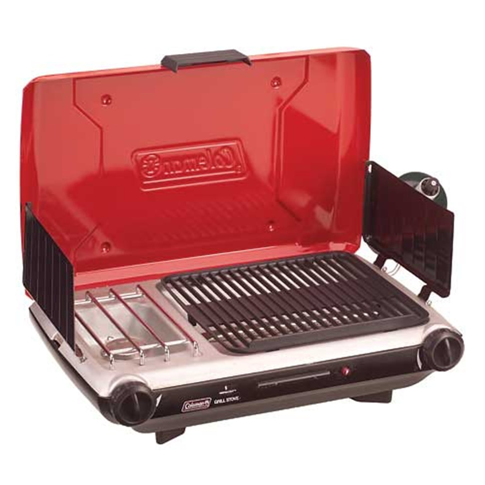 Coleman grill for tailgating