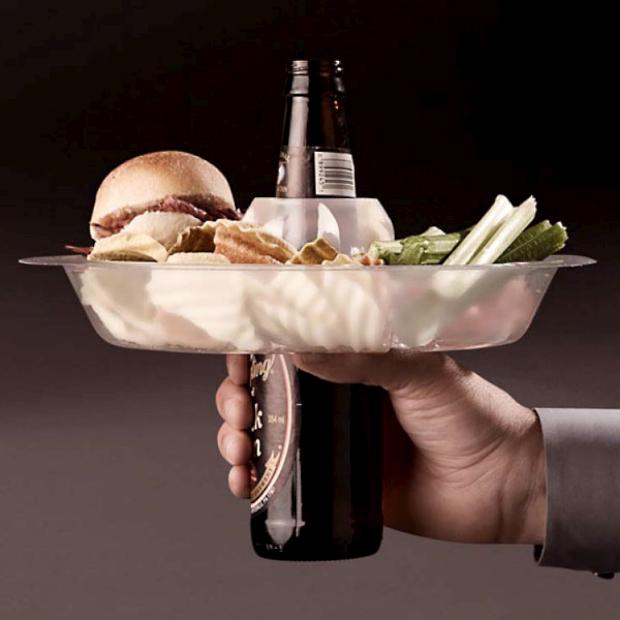 The Go Plate. Perfect for tailgating.