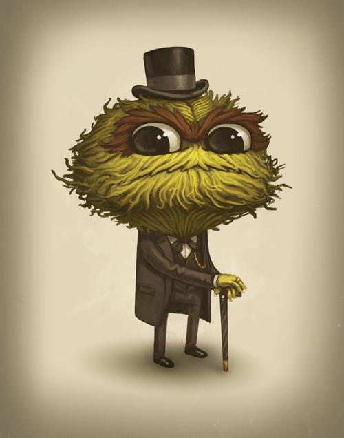 Oscar the Grandiose, Mike Mitchell (Tumblr)