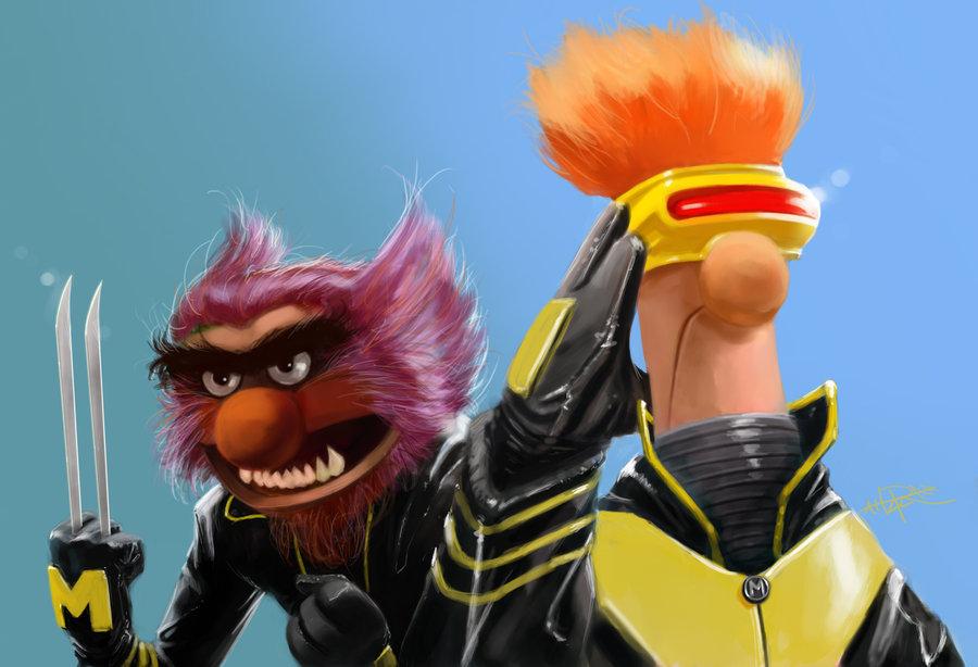 X-Muppets, Rahzzah (deviantART)