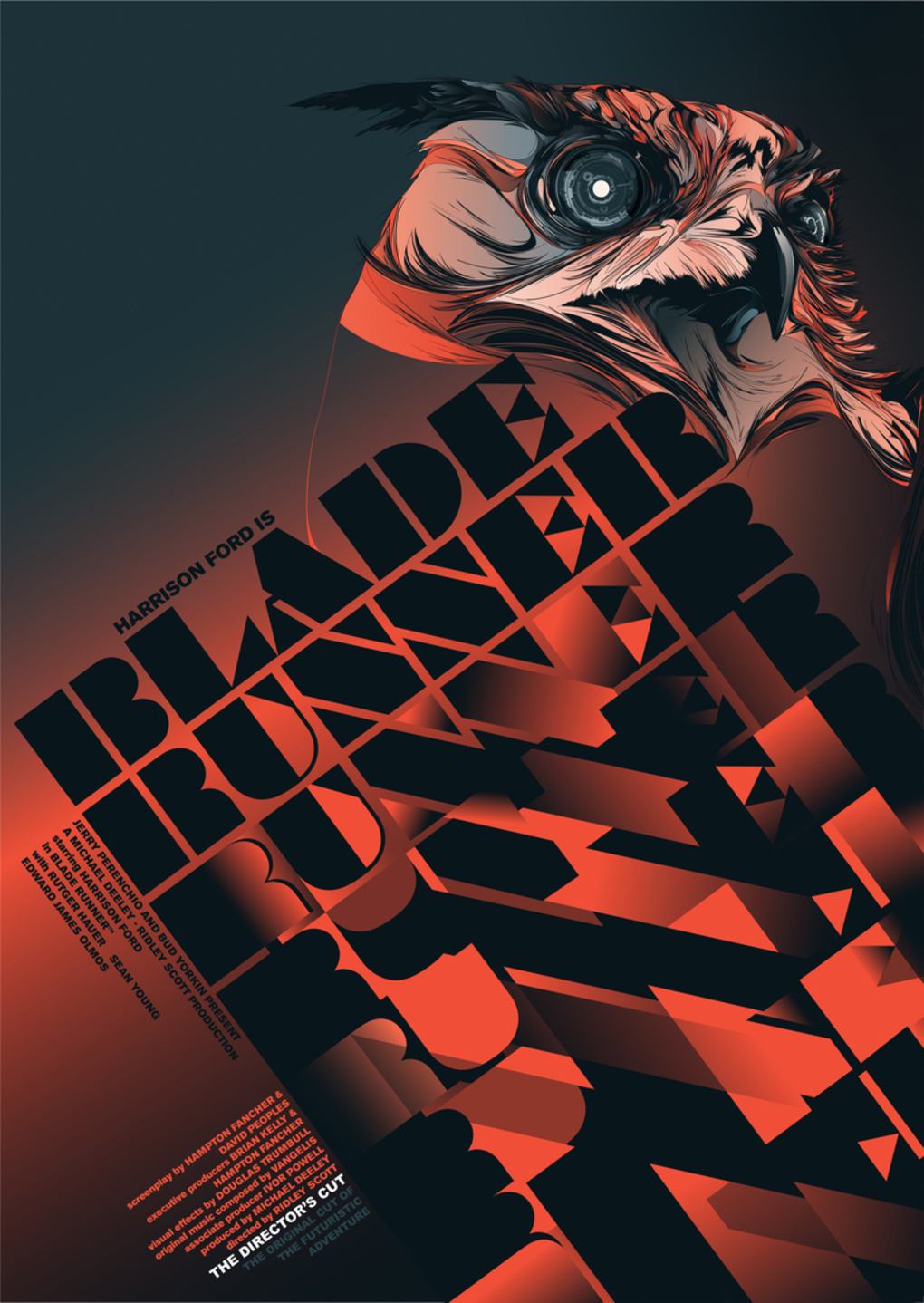 Alternative Movie Posters: Film Art from the Underground: Blade Runner
