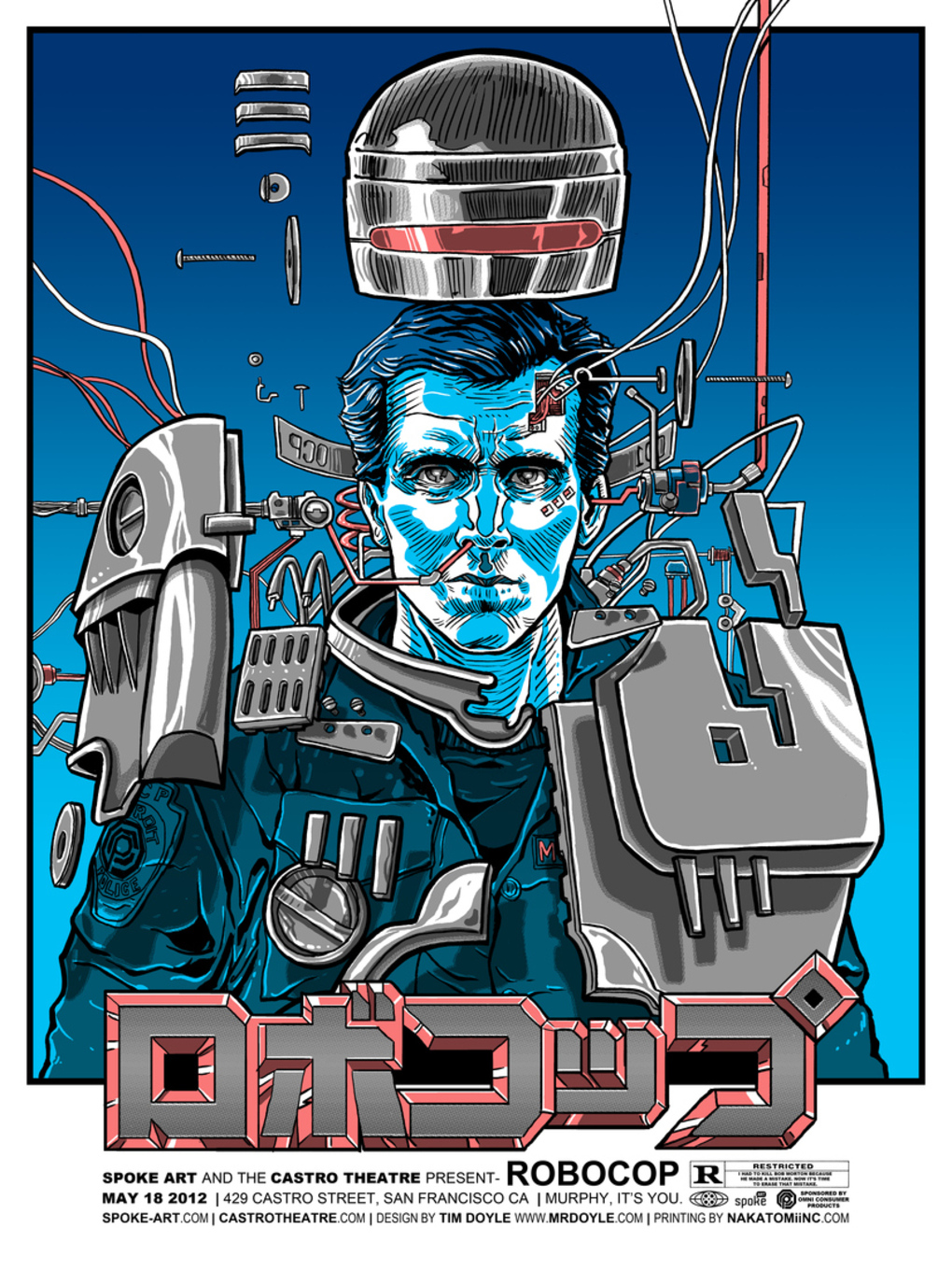 Alternative Movie Posters: Film Art from the Underground: RoboCop