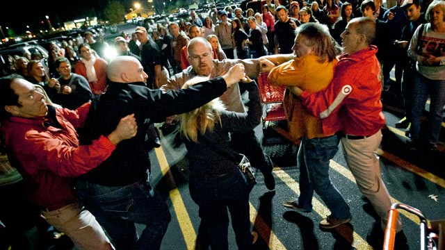 Black Friday Shopping fight at Target