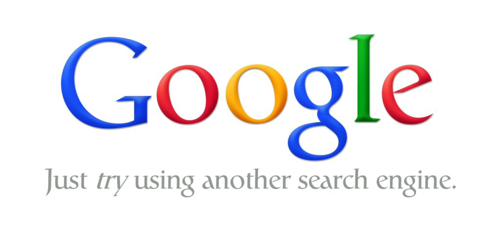 Google: Just Try using another search engine