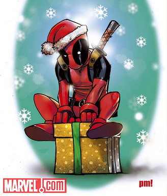 Deadpool Christmas