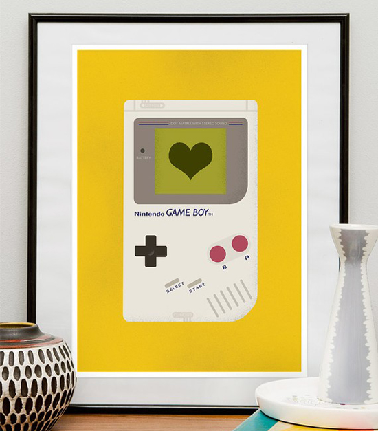 Game Boy Nursery Print