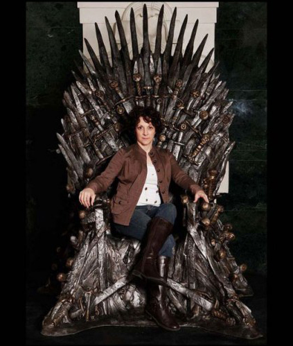 Game of Thrones Life-Size Replica Throne