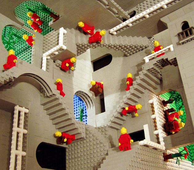 M.C. Escher Relativity