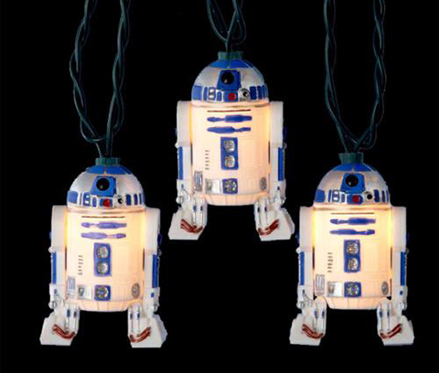 Geeky Holiday Decorations R2D2 Light Set