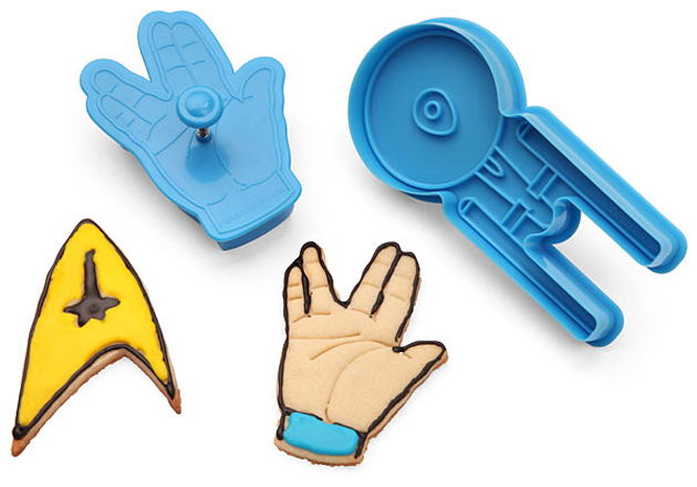 Geeky Holiday Decorations Star Trek Cookie Cutters