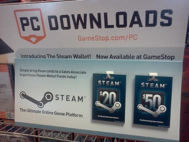 Steam-Wallet