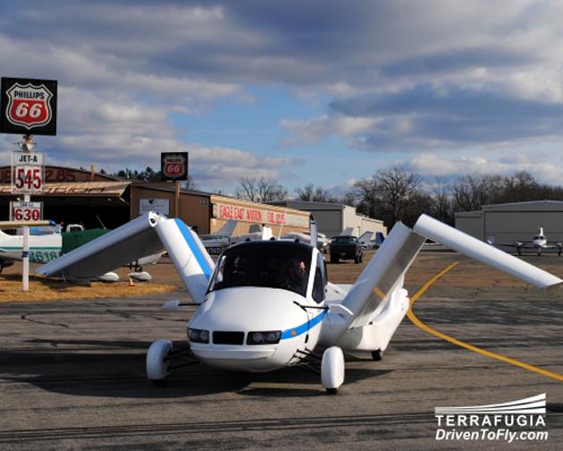 Terrafugia Car-Plane
