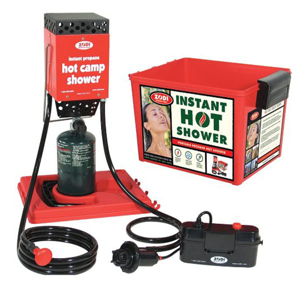 Survival Gear: ZODI Hot Camp Shower