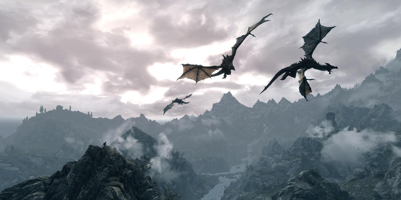 The Elder Scrolls V: Skyrim (2011): Here Be Dragons