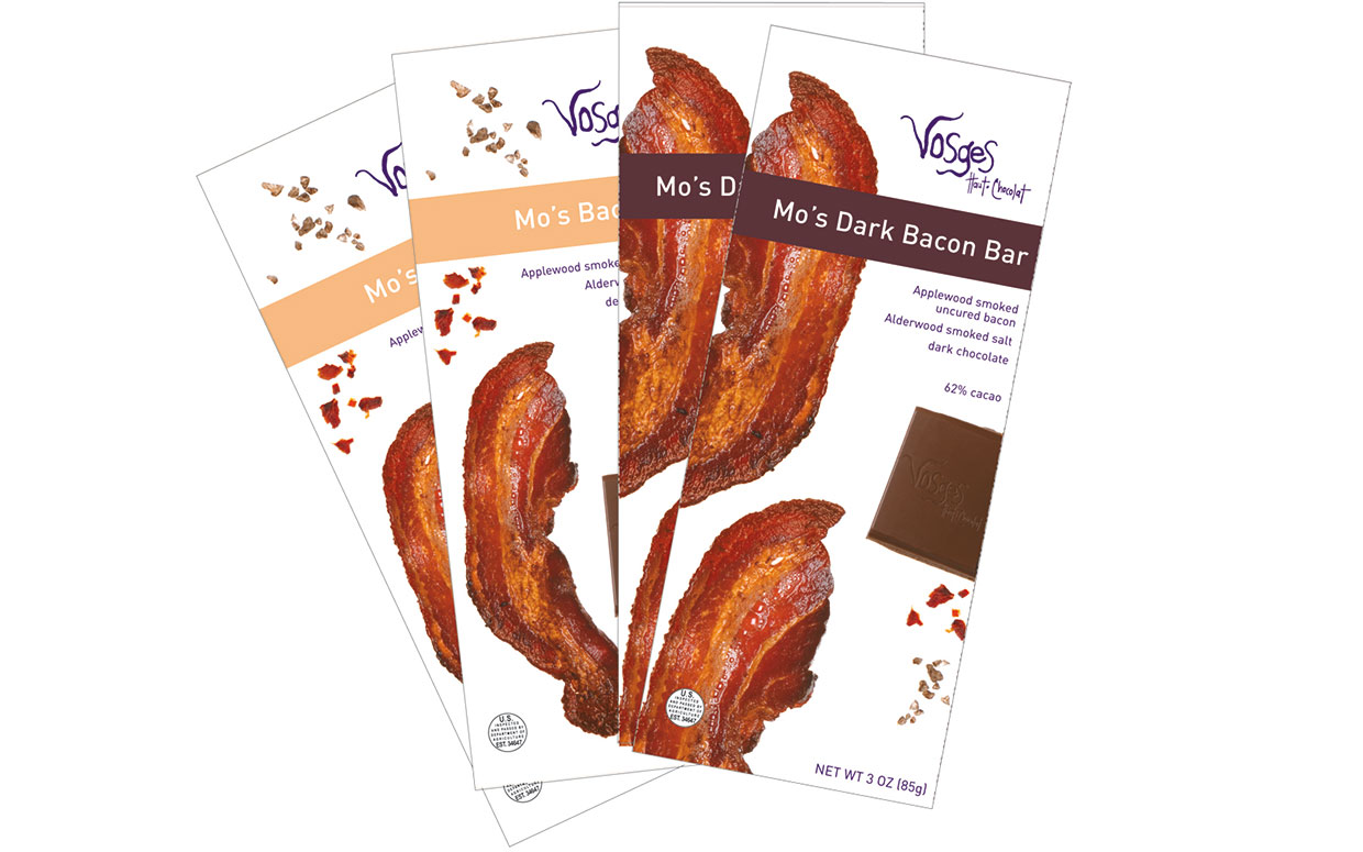 Stocking stuffers bacon chocolate