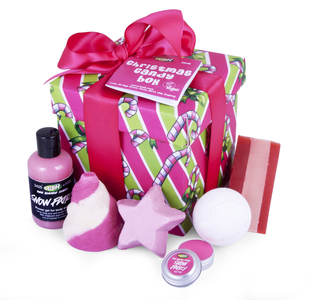 Stocking stuffers Lush gift set