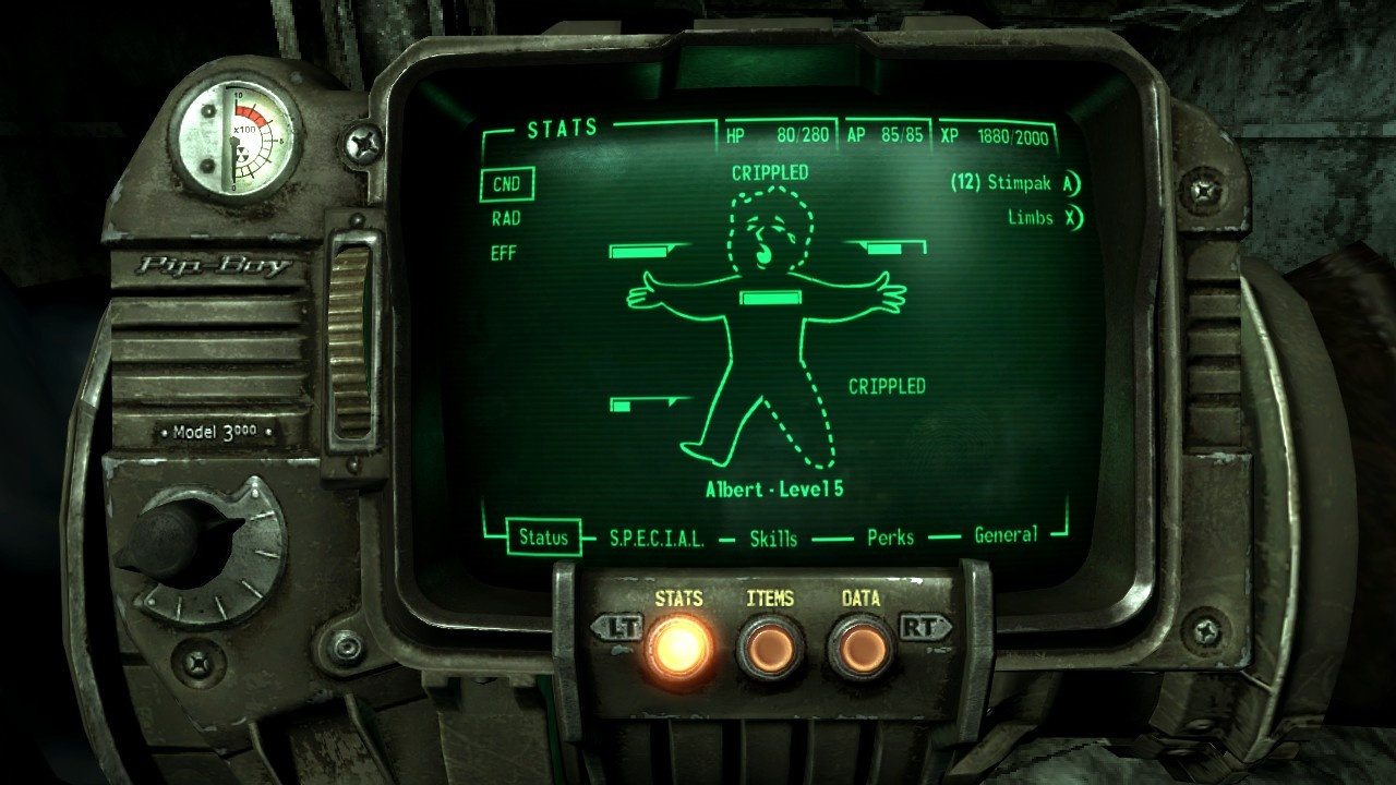 abstract fallout pip boy - photo #10