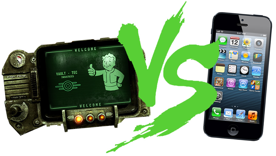 pipboy-vs-iphone-5