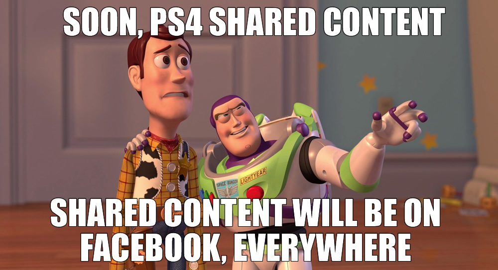 Woody Buzz PS4 Shared Content Meme