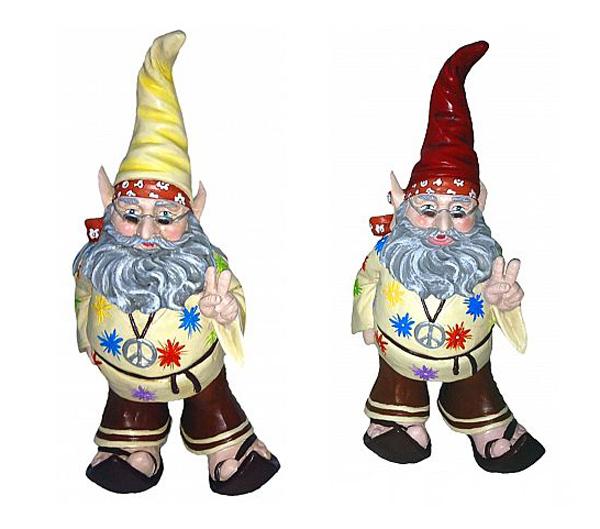 Jerry Hippie Gnome