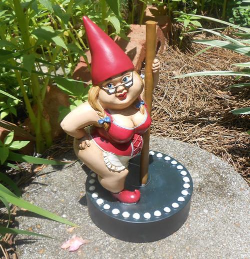 Garden Gnomes With Guns proper gnomenclature: misfit garden gnomes