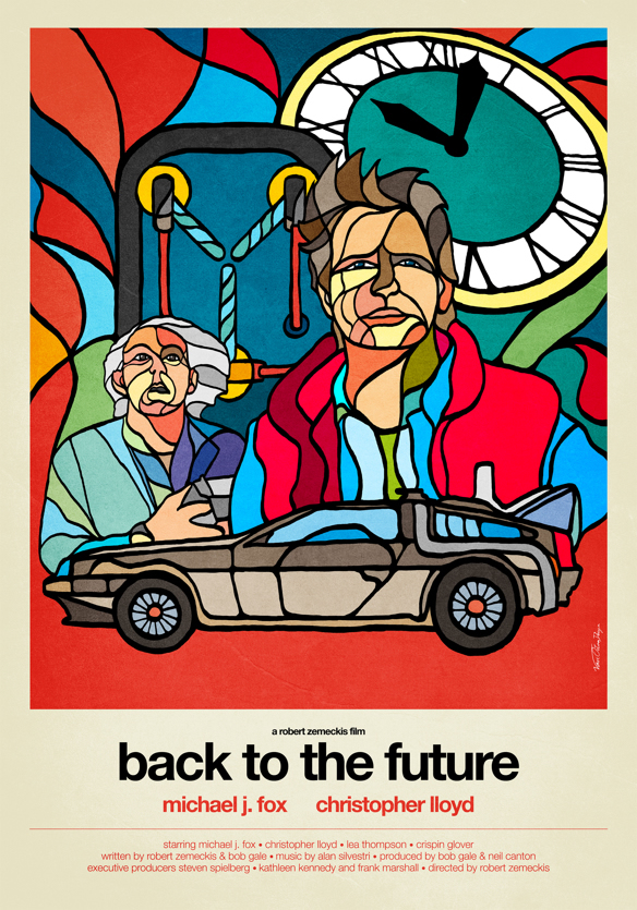 Back to the Future in Stained Glass