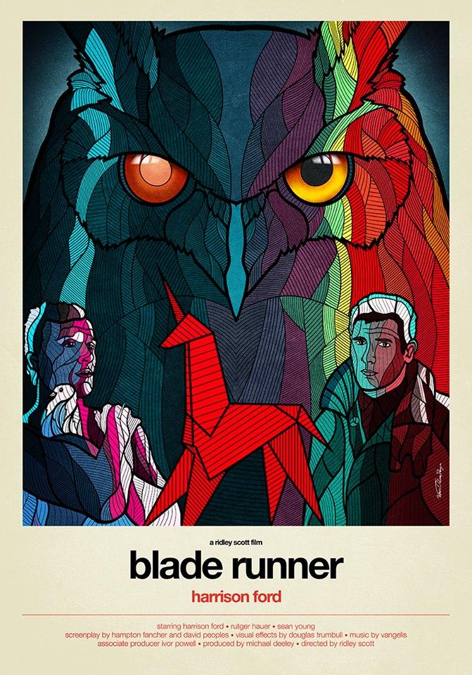 Blade Runner starring Harrison Ford