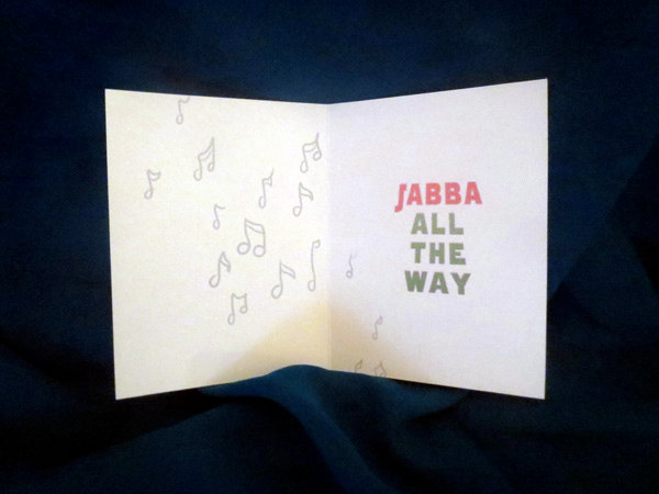 Jabba's Palace Card Inside