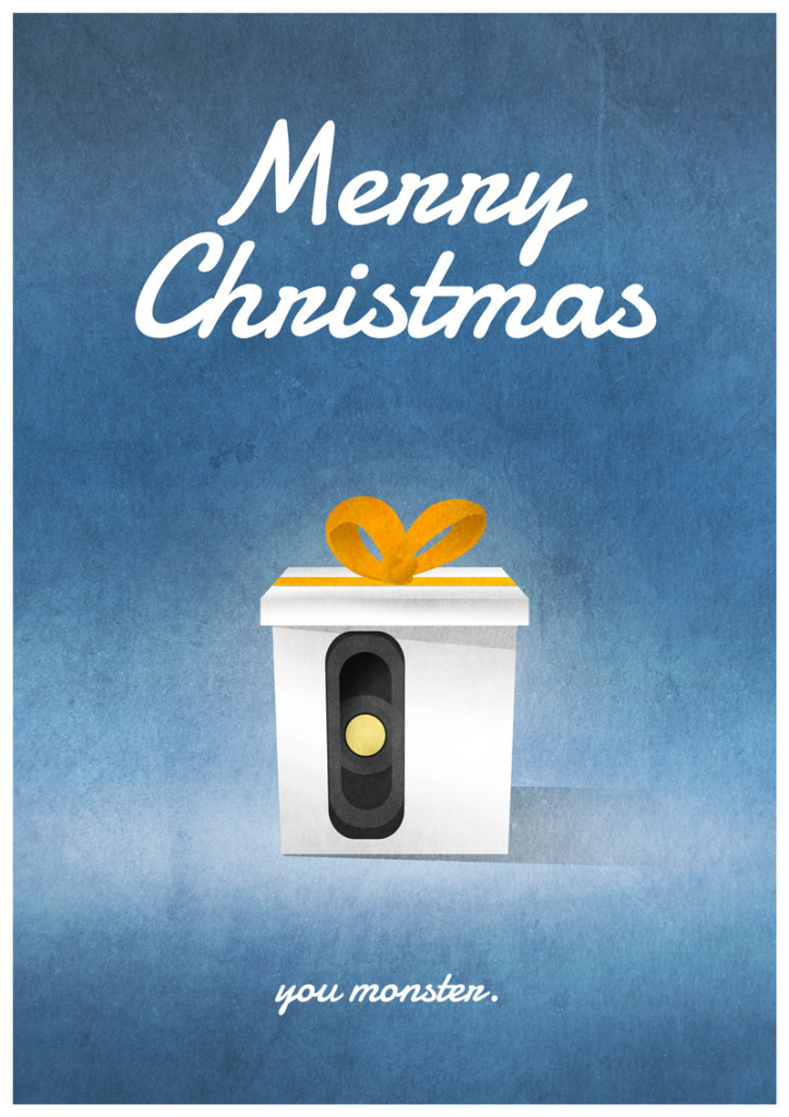 Video Game Christmas Cards 9