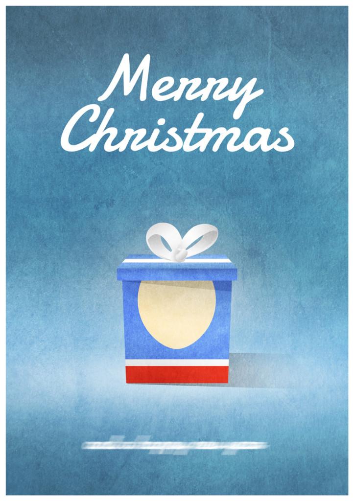 Video Game Christmas Card 5