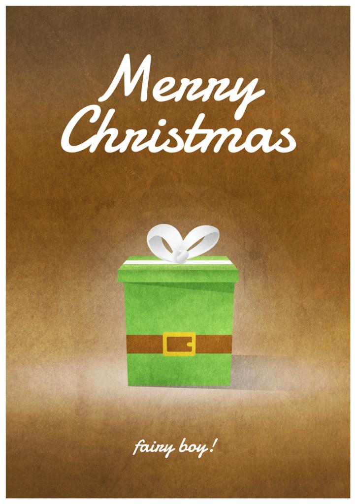 Video Game Christmas Card 1
