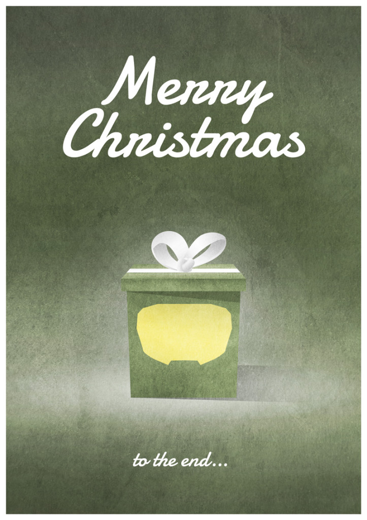 Video Game Christmas Card 6
