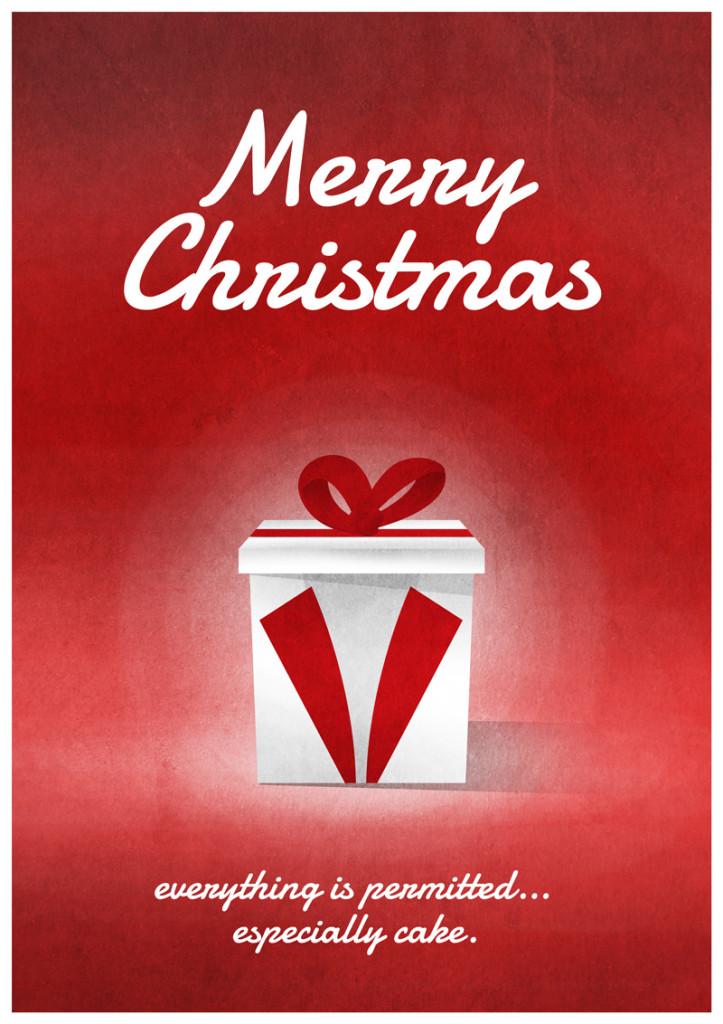 Video Game Christmas Card 4