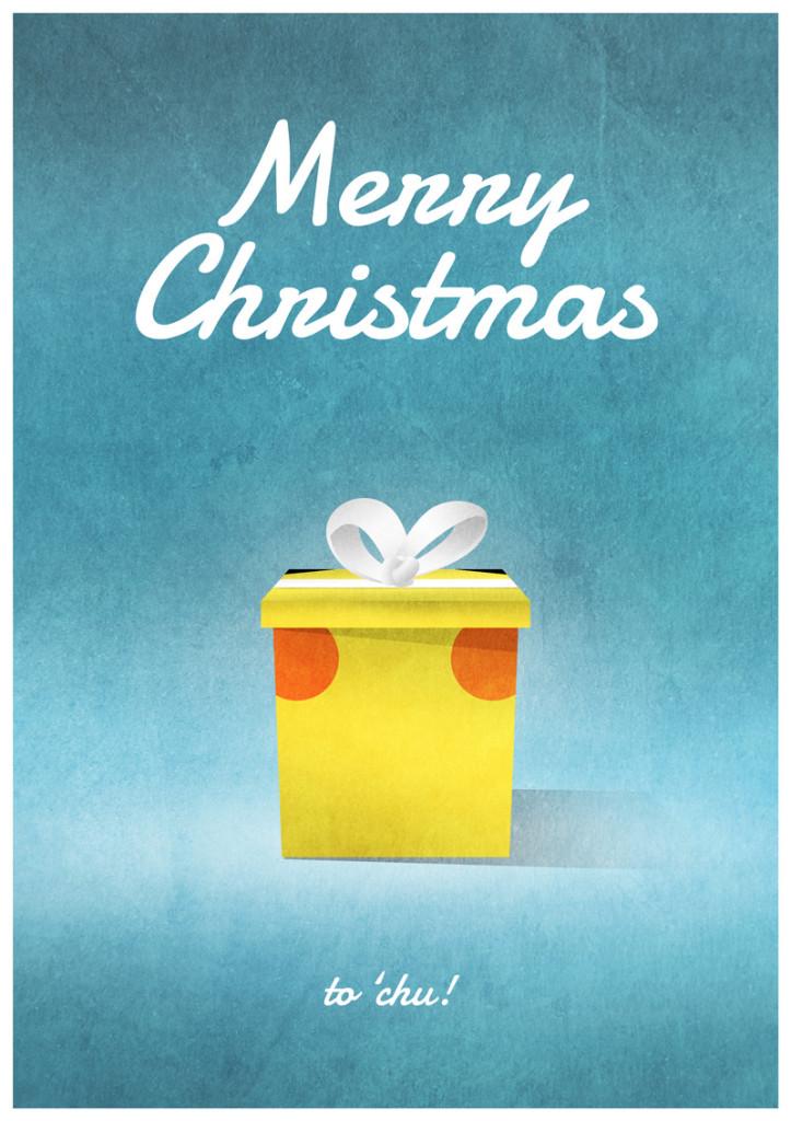 Video Game Christmas Card 3