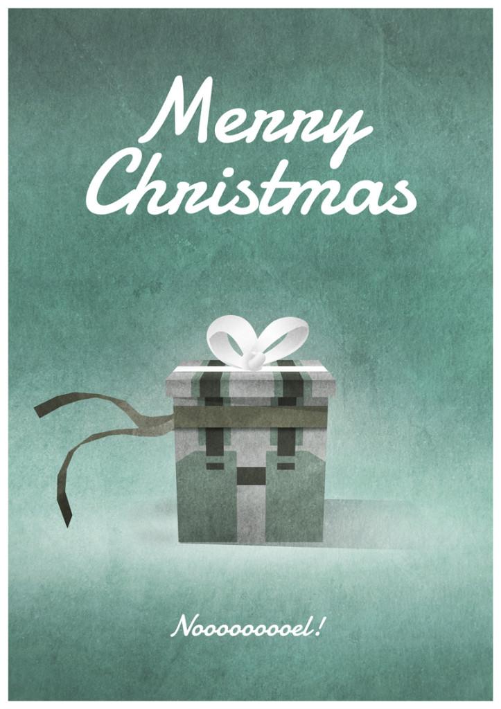 Video Game Christmas Card 7