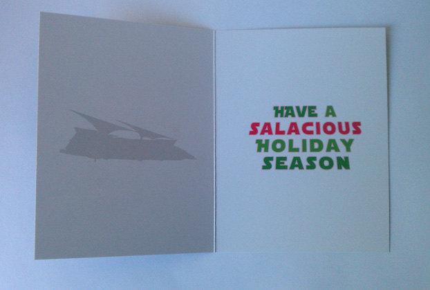 Salasious Crumb Card Inside